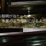 ミニチュア ドールハウス 回転寿司  照明