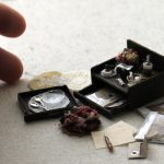 lettercase miniature ミニチュア 万年筆 レターケース  雑貨