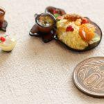 ミニチュア 食品サンプル 猫 ねこさまランチ