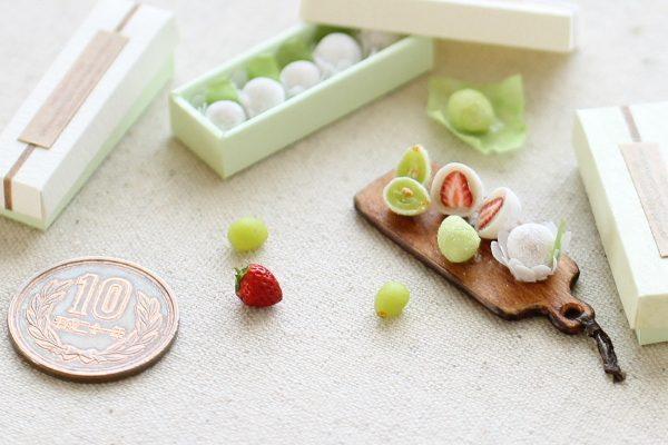 ミニチュア フルーツ 樹脂粘土