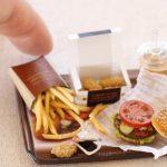 burger ミニチュアフード ハンバーガー