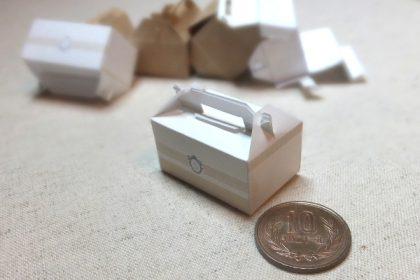 cake miniature ミニチュア ケーキ 展開図 箱