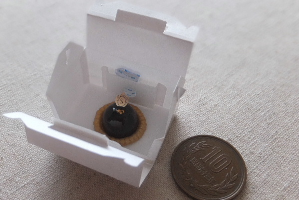 cake miniature ミニチュア 食品サンプル ショコラムース