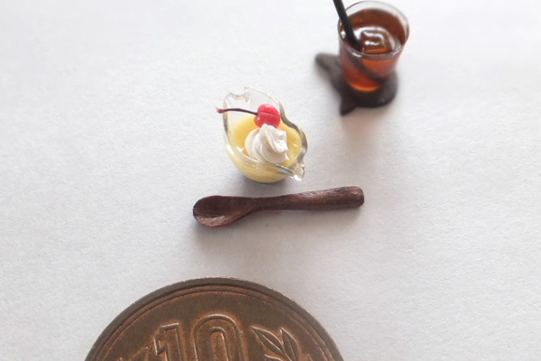 食品サンプル ミニチュア フェイクスイーツ レジン プリン