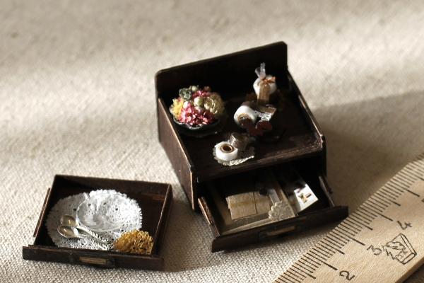 ミニチュア miniature letter レターケース