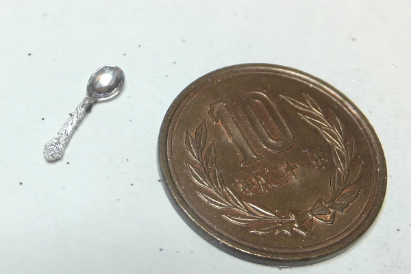 ミニチュア 純銀製 スプーン カトラリー silver