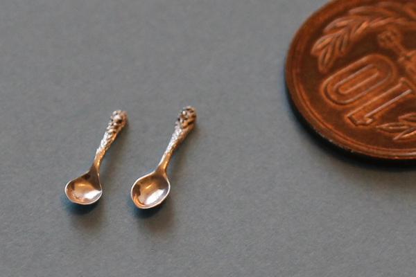 ミニチュア カトラリー スプーン 純銀製 silver