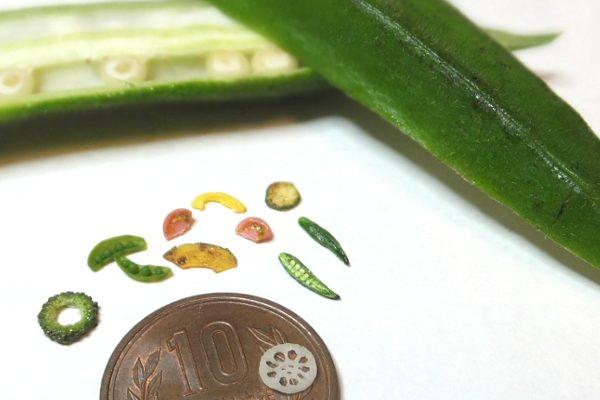 夏野菜 ミニチュアフード 樹脂粘土