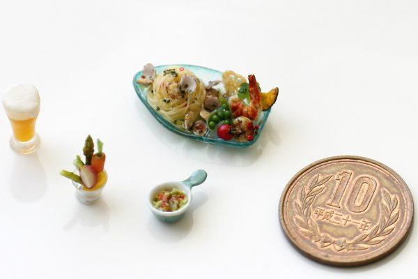 seafood ミニチュアフード シーフードプレート