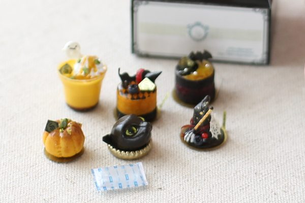 Halloween ミニチュア ケーキ ハロウィン