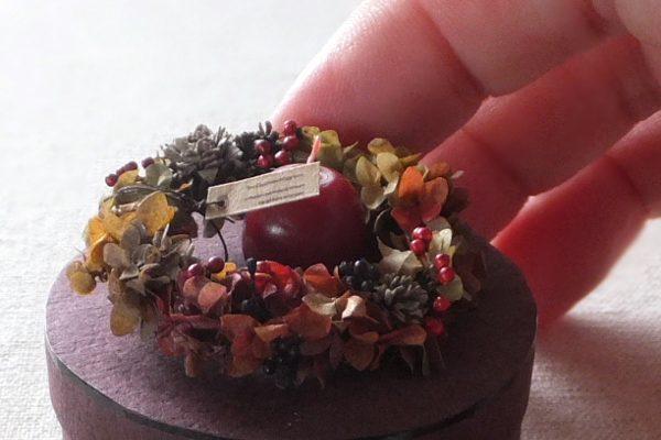 wreath ミニチュア リース アジサイ