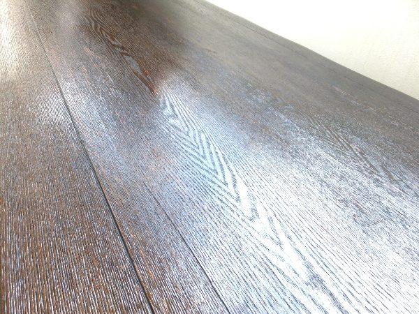 table 浮造りテーブル 補修 リペア DIY