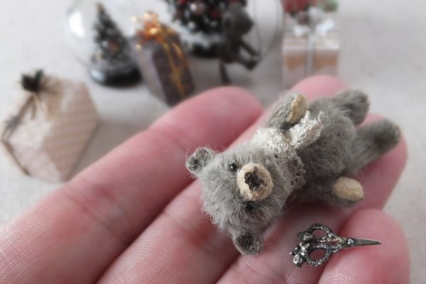 teddybear miniature ミニチュア テディベア