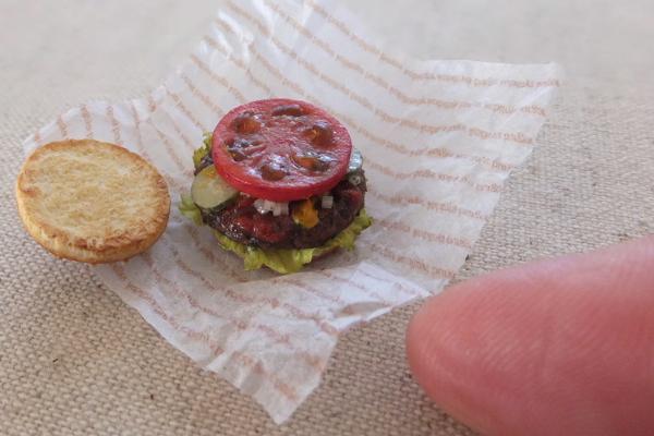 hamburger ミニチュア ハンバーガー