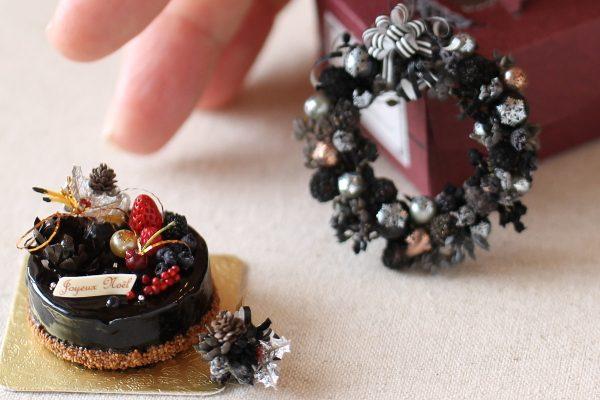xmascake クリスマスケーキ チョコ ベリー