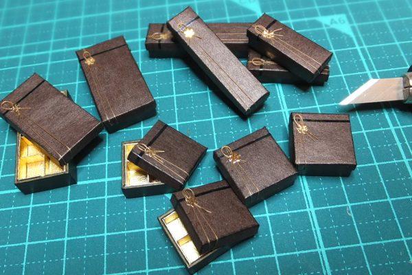 box ミニチュア チョコレート 箱