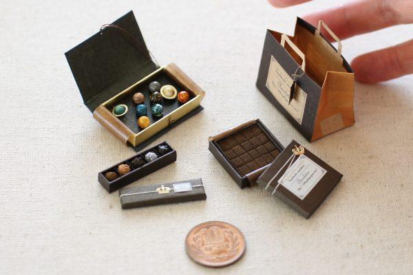 chocolate ミニチュア 惑星チョコ トリュフ 生チョコ