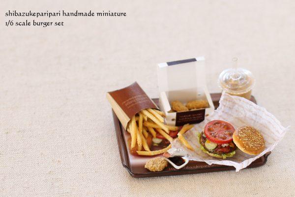 hamburger ミニチュアフード ハンバーガー