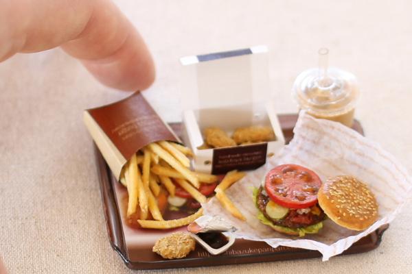 hamburger ミニチュア
