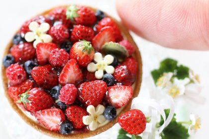 berry sweet ミニチュア スイーツ