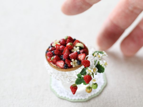 berry sweet ミニチュア スイーツ ベリータルト