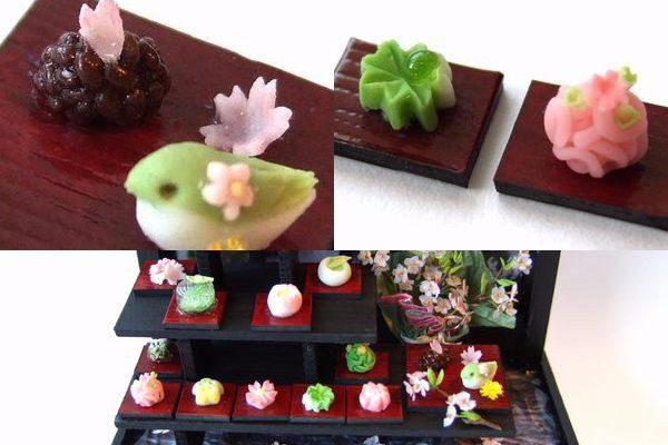 1/12 scale ミニチュア 和菓子