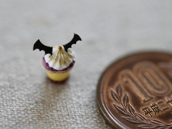 halloween ミニチュア ハロウィン プリン フラワー