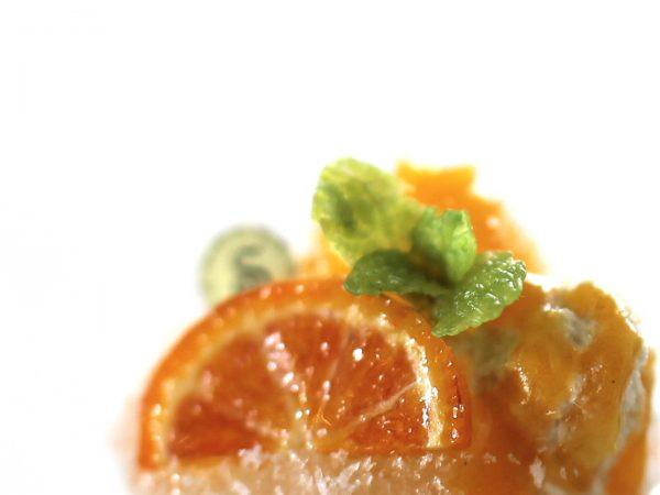 ミニチュア かき氷 オレンジ