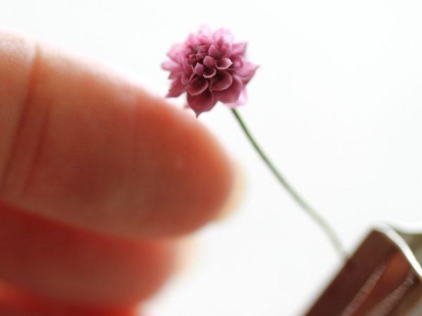 flower クレイフラワー ミニチュア ダリア