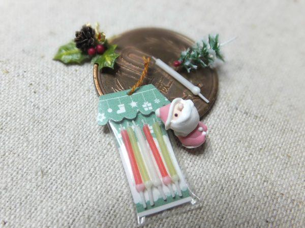 xmas ミニチュア クリスマスケーキ サンタ