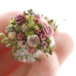 flower ミニチュア ジンジャーブレッドハウス フラワー