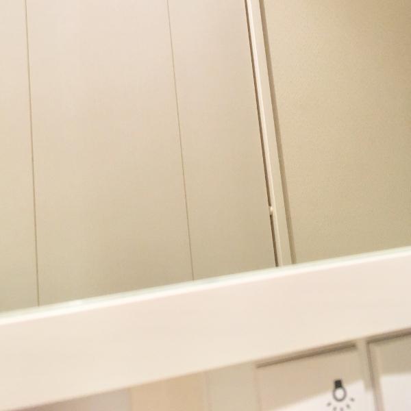 洗面台 鏡の隙間 対策