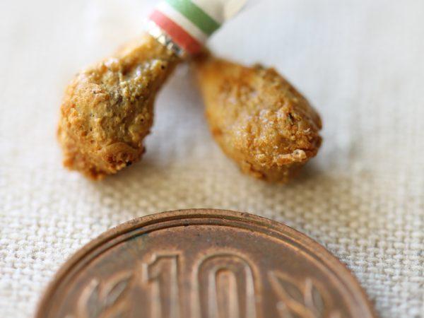 friedchicken miniature ミニチュアフード クリスマス オードブル