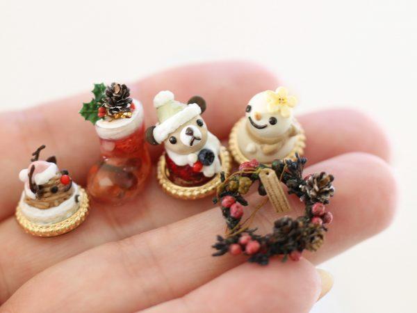 miniature ミニチュア クリスマスケーキ
