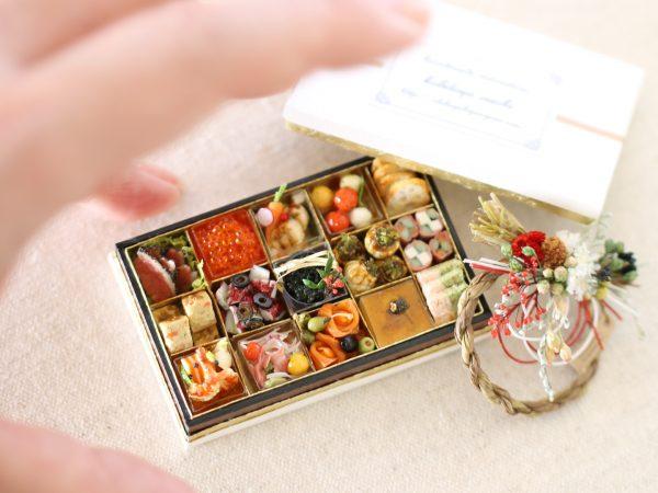 miniature ミニチュア 洋風おせち