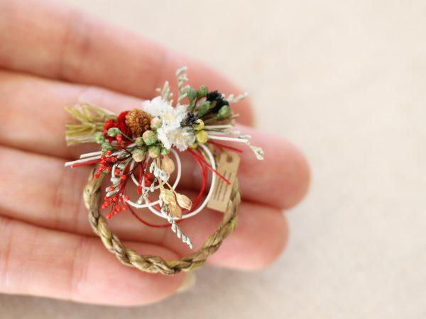 miniature ミニチュア お正月 リース