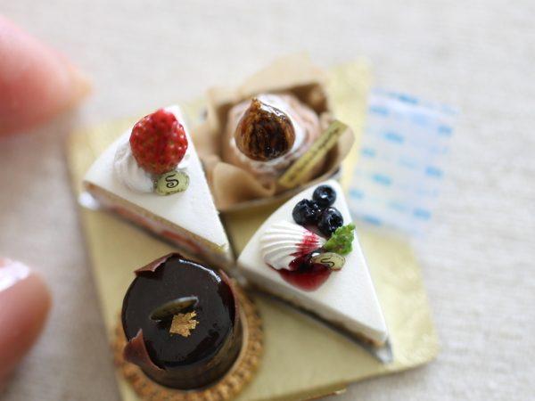 ミニチュア ケーキ フェイクスイーツ