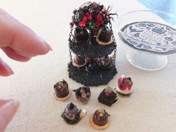halloweenミニチュア ハロウィン ケーキ