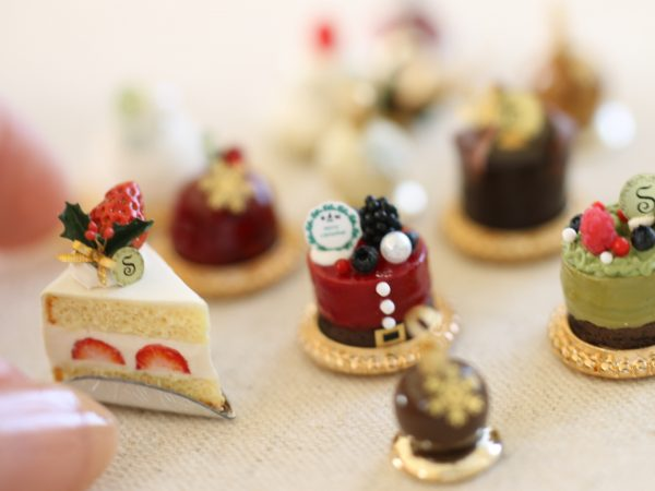 ミニチュア クリスマスケーキ フェイクスイーツ