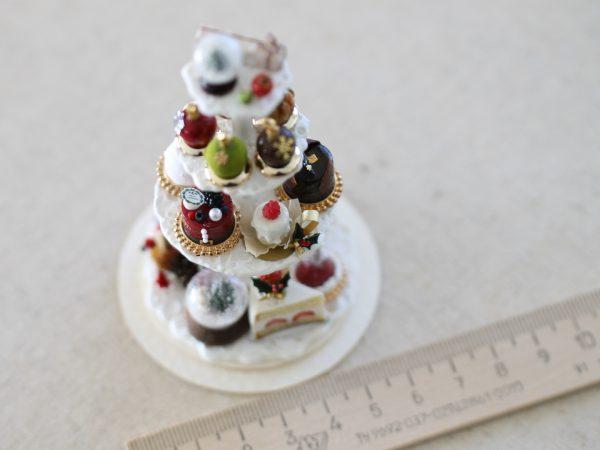 xmas snowglobe スノードーム クリスマス ケーキ