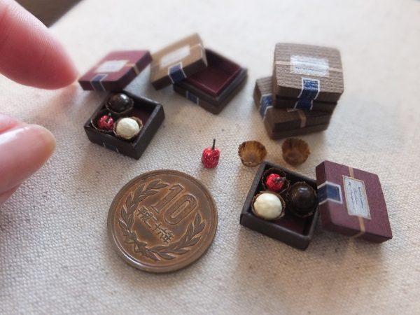 ミニチュア チョコレート フェイクスイーツ