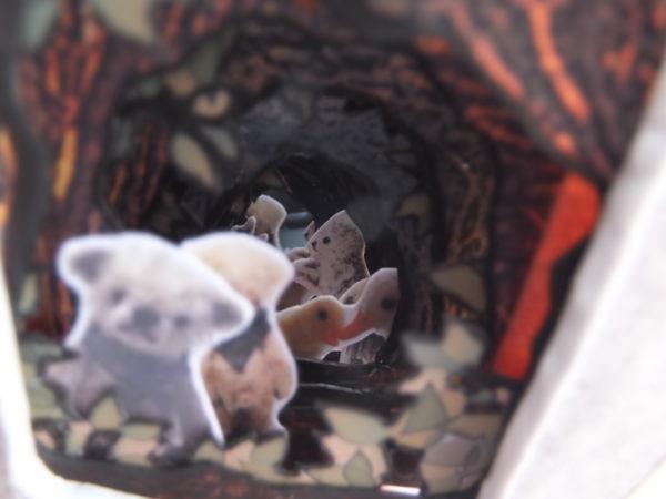 ミニチュア イースター トンネルブック miniature easter