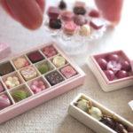 ミニチュアフード 桜 ルビーチョコレート サクラ