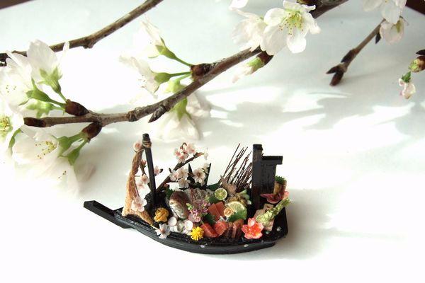 ミニチュア 食品サンプル 和 船盛