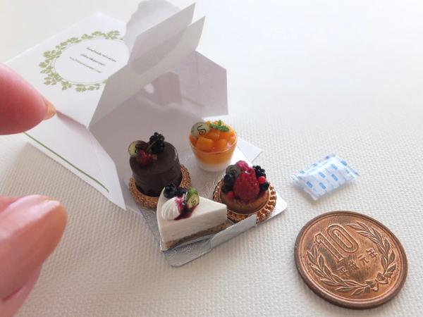 ミニチュア ケーキ 食品サンプル