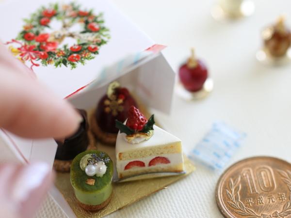 ミニチュア ケーキ 食品サンプル クリスマス