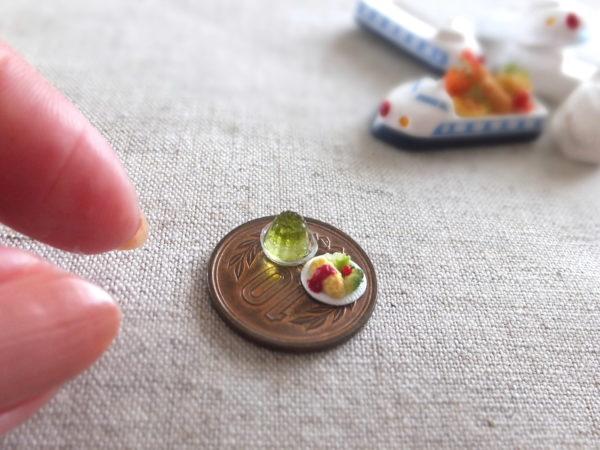 お子様ランチ ミニチュア 新幹線 食品サンプル