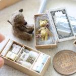 Teddy bear miniature テディベア ミニチュア