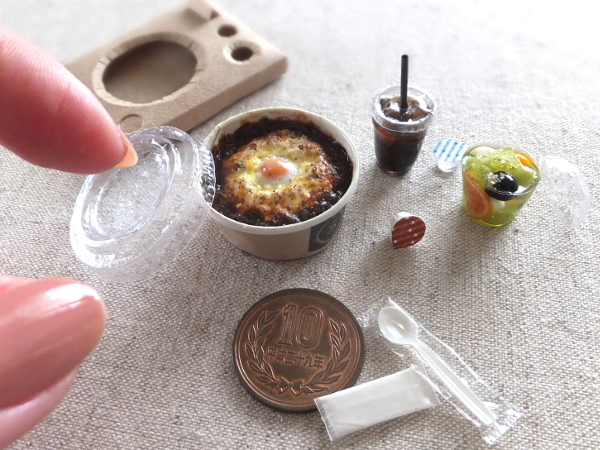 ミニチュア テイクアウト 食品サンプル フェイクフード