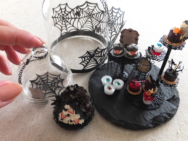 ミニチュア halloween ハロウィン